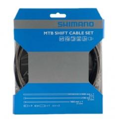 Kit Cable Shimano Cambio/Funda/Topes MTB Sp41 Opt.Ng