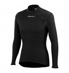 Camiseta Interior Castelli Flanders Warm Long Sleeve Negro