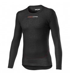 Camiseta Interior Castelli Prosecco Tech Long Sleeve Negro