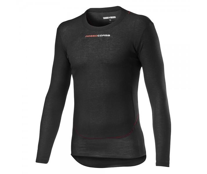 Camiseta Interior Castelli Prosecco Tech Long Sleeve Negro