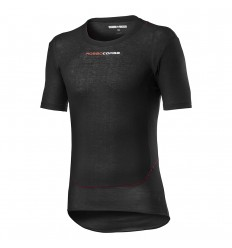Camiseta Interior Castelli Prosecco Tech Short Sleeve Negro
