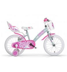 Bicicleta Infantil MBM Candy 16' Azul