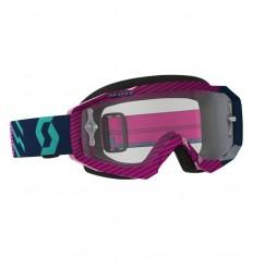 Máscara Scott Hustle Mx Azul/Rosa Clear
